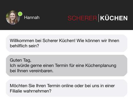 Kuechen Scherer Support Chat