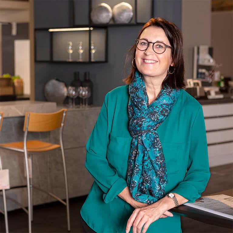 Kuechen Scherer Team Verwaltung Silke Becker
