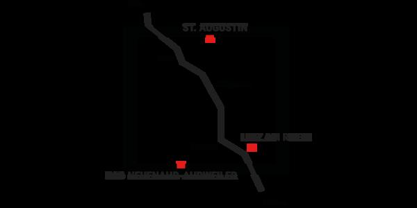 Kuehen Scherer Standorte Karte
